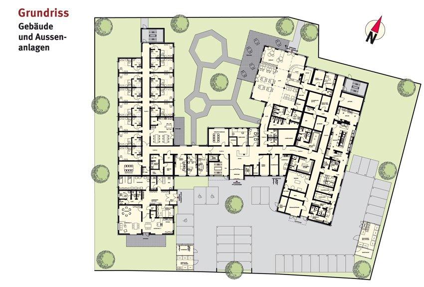 Gebäude und Außenanlagen